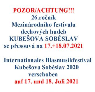 26. Internationales Festival der Blaskapellen 2021